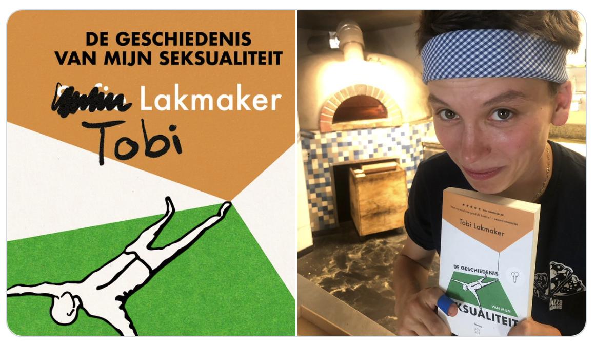 Tobi Lakmaker te gast op Nacht van de Literatuur 2021